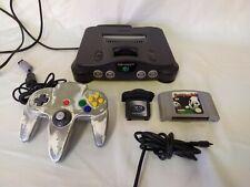 Nintendo 64 Console Bundle N64 4mb expansion pak Virtual Pool tested