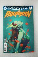 Aquaman #10 Joshua Middleton Mera Variant Edition Comic Dc Rebirth