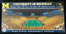 Puzzle University of Michigan THE BIG HOUSE Stadium NEW 1000 piece