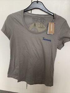 Patagonia Womens tshirt Xs grey With Back Detail