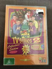 ORIGINAL The Wiggles TV Series 2 - DVD Collector's Edition Box Set VERY RARE