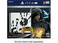 Sony PlayStation 4 Pro 1TB Console with Death Stranding Video Game Bundle NEW