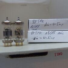 matched pair E88CC Telefunken 6922 CCA <> NOS Testet Röhre Tube Valvola 22
