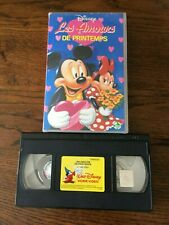 VHS   DISNEY   «LES AMOURS DE PRINTEMPS»   AVEC HOLOGRAMME