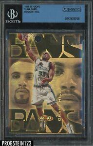 1998-99 Skybox Hoops Slam Bams #8 Grant Hill Pistons HOF /100 BGS Authentic