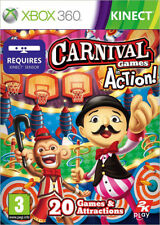 Carnival Games in Action ~ XBox 360 Kinect Game (in Great Condition)