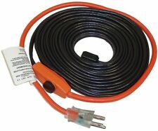 Automatic Water Pipe Heat Heater 30FT Cable Kit Freeze Electric