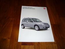Citroen Berlingo Multispace Exclusive Prospekt 02/2006