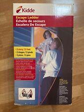 Kidde 468093 Kl-2S Fire Escape Ladder 2 Story 13-Foot Portable