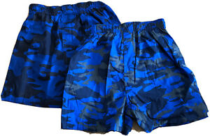 Gap Kids 2 Pairs Boxer Underwear - Cotton Blue Camo - Size XL