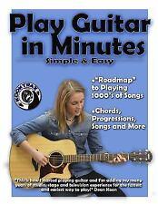 Play Guitar in Minutes: Play Guitar in Minutes (Paperback or Softback)