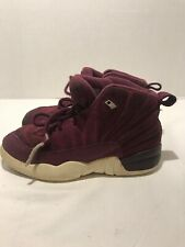 Jordan Retro Bordeaux/Sail-Metallic Silver Kids Size 13