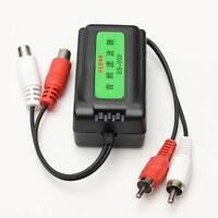 Amplificatore audio auto automobile RCA filtro cancellazione rumore loop terra