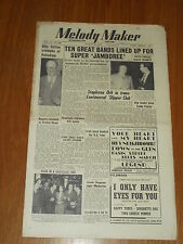 MELODY MAKER 1950 #890 AUG 26 JAZZ SWING BILLY COTTON LESTER FERGUSON FOSTER