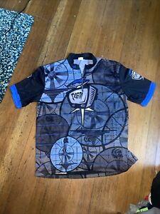 Sugoi Cycling Jersey Vintage Mens XL Black/Gray/Blue