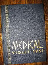 1951 Medical Violet Yearbook - N.Y. Univ. - Bellevue Medical Center College