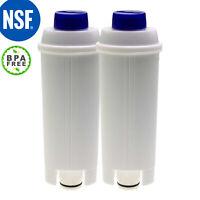 2X Water Filter For Delonghi Magnifica S Automatic Coffee Machine ECAM22110SB