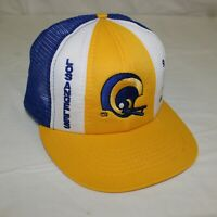 Vintage Los Angeles Rams NFL Trucker Mesh Snapback Hat