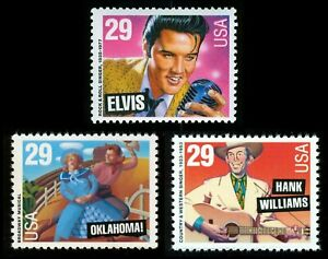 #2721-2723 29c Legends of American Music, Mint ANY 4=