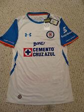 f6d0344a0 NWT Under Armour 2015 2016 Cruz Azul White Away Jersey (Men Size Medium)
