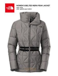 Women's Belted Mera Peak Down Jacket, Size Small