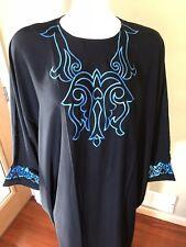 Butterfly Khaleeji Abaya Arabic Farasha Abaya Hijab Dubai Made Size XL 60