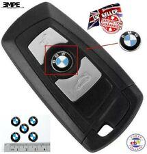 **NEW** 2 x BMW Key Fob Badge Logo Emblem Replacement Sticker 11mm Diameter