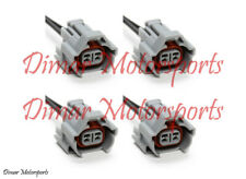 4-Denso High Impedance Female Fuel Injector Connector Electrical Plug Pigtail