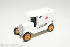 EFSI T-FORD T FORD 1919 AMBULANCE WHITE EXCELLENT CONDITION