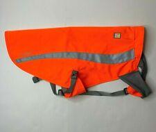 Ruffwear Track Jacket Blaze Orange High Visibility Safety L/X Dog Coat Gear