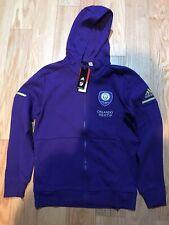 Adidas MLS MEN'S SOCCER Orlando CITY FC TRAVEL JACKET CG1232 Size M BNWT Kaka