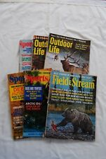 Six Vintage Outdoor Magazines From 1971