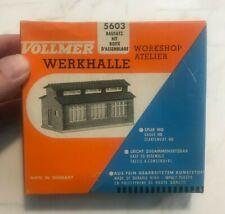 Vintage Vollmer HO 5603 Workshop Kit COMPLETE