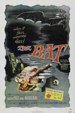 THE BAT ORIGINAL MINT FOLDED 27X41 MOVIE POSTER RE-ISSUE 1974 VINCENT PRICE