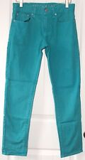 Women's American Eagle Skinny Jeans-Turquoise-Size 28/30