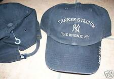 NEW YORK YANKEES STADIUM BRONX NY BASEBALL HAT NAVY