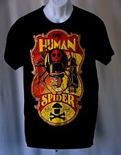 """Johnny Cupcakes The Human Spider 8 Legs Louie Black Large 42"""" T Shirt 253 / 300"""