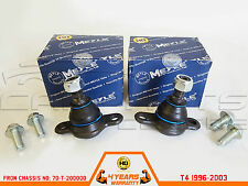 FOR VW TRANSPORTER T4 1996-2003 LOWER BALL JOINT BALL JOINT MEYLE HD HEAVY DUTY