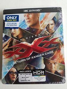 xXx: RETURN OF XANDER CAGE STEELBOOK (4K UHD + Blu-Ray + Digital) Vin Diesel