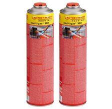 ROTHENBERGER Multigas 300 Vorteilspack 2 x 600 ml