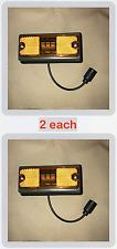 2 each- Marker Light, LED, Frt. Amber; FMTV MRAP; 6220-01-494-0572 12422657-001