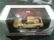 1:43 Herpa Ferrari Testarossa Yellow