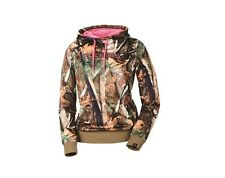 Polaris Camouflage/Pink Women's Pullover Hoodie - Size Large - Brand New