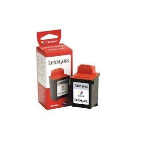 Original Lexmark 13619HC Color 1000 1020 1100 2030 2050 2055 3000 40766 Boxed Ad