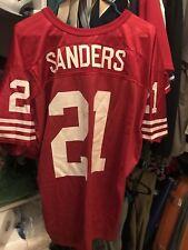 Deion Sanders jersey San Francisco 49ers Wilson jersey Cowboys Falcons RedSkins