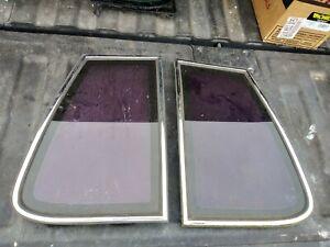 81-88 Cutlass Supreme Quarter Window Glass - Pair Set