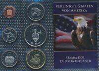 USA 2013 Stgl./unzirkuliert 2013 1 Cent bis 1 Dollar La Posta (9030648