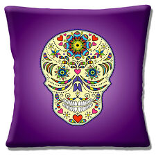 "Vintage Retro Mexikanischer Sugar Skull Tag der Toten violett purple16 """