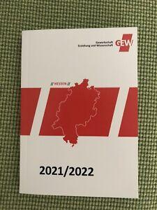 Lehrerkalender 2021/22 GEW Hessen Schulplaner