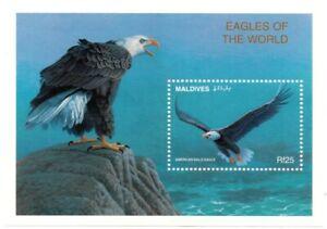VINTAGE CLASSICS - Maldives 2209 - American Bald Eagle - Souvenir Sheet - MNH